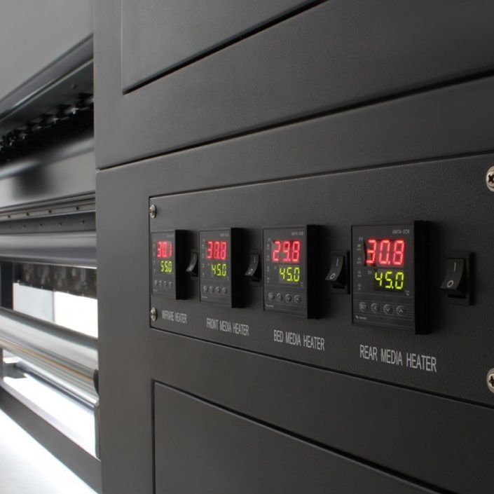 Plotter de impressão digital solvente potenza_ Controle de Temperatura
