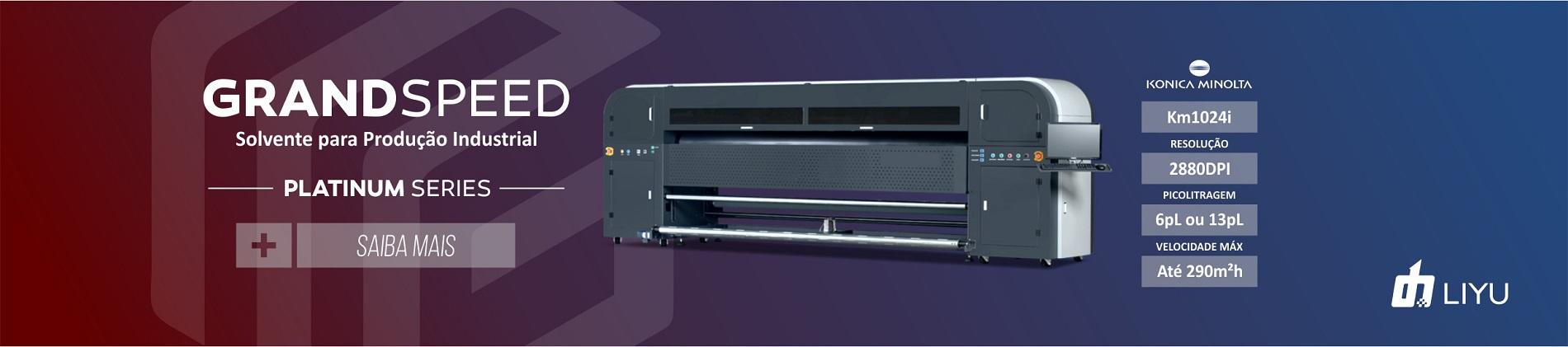 Impressora solvente 6pl megagraphic