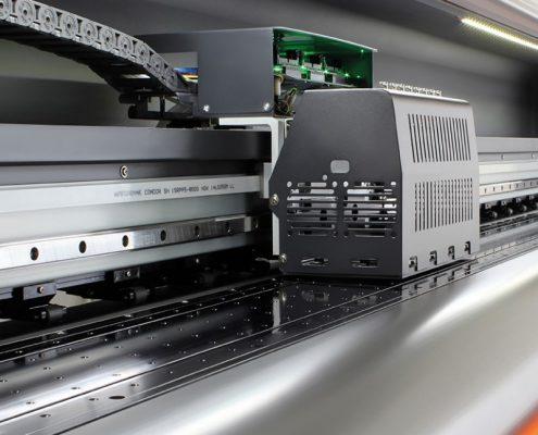 Plotter de impressão digital solvente potenza_ cabeçote de impressão