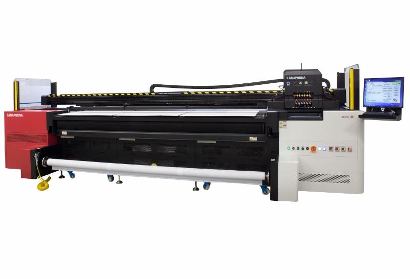 Impressora uv agfa